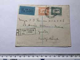 SOUTH AFRICA - SWITZERLAND - FLIGHT COBER - 19/10/1932 - Africa (Other)