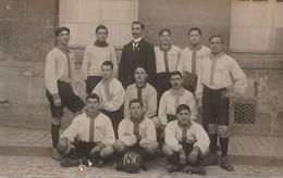 02 Soissons, Association Amicale Anciens élèves De L'école Du Centre Se Soissons, 1912-1913, équipe Football - Soissons