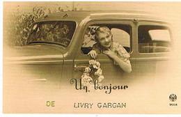 93  UN BONJOUR   DE   LIVRY GARGAN   CPM  TBE  VR 1191 - Livry Gargan