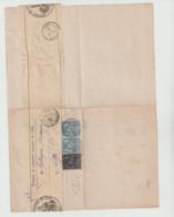 (WE644.11) Ordre  Tribunal De 1re Instance De Lille 1882 Aquis De 3 Maisons A Lille - 1877-1920: Semi-Moderne