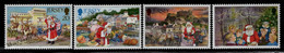 Jersey 1997 Yvert 799-802, Christmas - MNH - Jersey