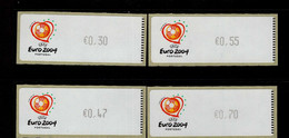 43 Fußball Europameisterschaft (1) ** Postfrisch, MNH, Neuf - Automatenmarken (ATM/Frama)