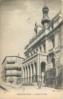 Algérie - Constantine - L'Hôtel De Ville - Animée - CPA - Voir Scans Recto-Verso - Constantine