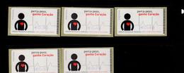 48 Herzkrankheiten (1) ** Postfrisch, MNH, Neuf - Automatenmarken (ATM/Frama)