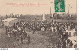 55) LAIMONT : Inauguration Du Monument érigé En Mémoire Eu Lieutenant De Boncour (1913) - Other Municipalities