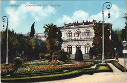CPA AK ABBAZIA Kurkpark Und Villa Angiolina. CROATIA (623504) - Kroatien