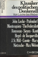 Klassiker Des Politischen Denkens - Zweiter Band Von Locke Bis Max Weber - Collectif - 0 - Other