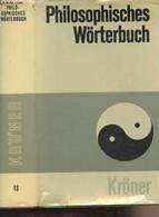 """Philosophisches Wörterbuch - Neunzehnte Auflage Neu Bearbeitet Von Professor Dr. Georgi Schischkoff - """"Kröners Taschenau - Other"""