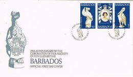 40420. Carta F.D.C. BARBADOS 1978. 25 Anniversary Coronation Queen Elizabeth II - Barbados (1966-...)