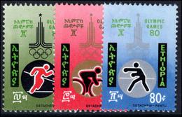Ethiopia 1980 Olympics Unmounted Mint. - Ethiopia