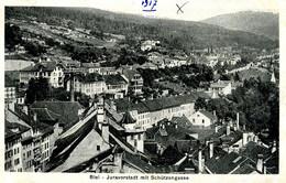 Biel -Juravorstadt Schützengasse 1917 - BE Berne