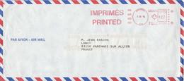 CANADA EMA DE MONTREAL SUR LETTRE POUR LA FRANCE 1971 - Briefe U. Dokumente