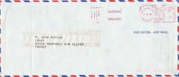 CANADA EMA DE MONTREAL SUR DEVANT DE LETTRE POUR LA FRANCE 1982 - Briefe U. Dokumente