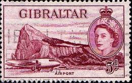Gibraltar Poste Obl Yv: 137 Mi:141 Airport (Obl.mécanique) - Gibraltar