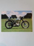 """(F4) Moto """"TRIUMPH"""" 500 TR5 Trophy Son Réservoir Avec Le Petit Porte Paquet. (Veteran Motor Cycle) - Motorbikes"""
