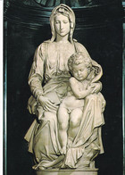 A4854-  Eglise Notre Dame, Church Of Our Lady, Madonna And Child Statue Of Michelangelo Brugge Belgium Postcard - Brugge