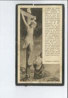 ELISA BELIN NEE SAINT-LEGER 1894 ( ESTAIMPUIS ? STEENPUT ) ET Y + 1926 IMPRESSION J SEMET ST-LEGER - Devotion Images