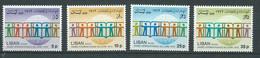 Liban    Aérien  Série  - Yvert N° 582 à   585  **      4 Valeurs Neuves Sans Charnière    -  AA19303 - Liban