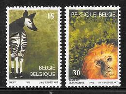 COB 2486/2487 ** - Zoo Antwerpen - Unused Stamps