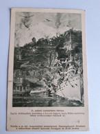 CPA - Hongrie - Bombardement Du Mont Lovçen (Monténégro) Par Un Croiseur K. U. K. Et L'Aviation Austro-Hongrois, 1917 - Oorlog 1914-18