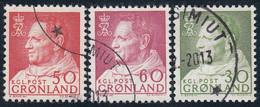 GREENLAND  Michel  65,69,71  Very Fine Used - Gebraucht