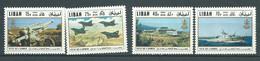 Liban    Aérien  Série  - Yvert N° 542  à   545  **      4  Valeurs Neuves Sans Charnière    -  AA19209 - Libano