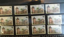 (stamps 11-5-2021)  12 X $ 2.00 Island Of FIJI Used Stamps - Fiji (1970-...)