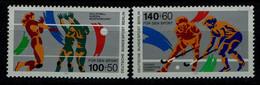 GERMANY 1989 BERLIN VOLLEYBALL MI No 836-7 MNH VF!! - Volleyball