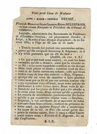 LIEGE - Anne DRESSE - Vve Jean BELLEFROID, Banquier & Prédident Tribunal De Commerce - Décédée 1937 - Devotion Images
