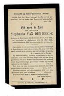 BEIRLEGEM (Dikkelvenne) / BOTTELARE - Stephania VAN DEN HEEDE - °1932 En +1899 - Devotion Images