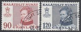 GREENLAND  Michel  90/91  Very Fine Used - Gebraucht