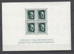 Drittes Reich , Block 7 Postfrisch ( MNH ) - Unused Stamps