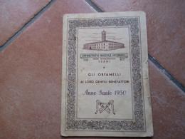 Orfanotrofio Maschile Antoniano Padri Rogazionisti TRANI Anno Santo 1950 Quadro S.Antonio Van Dyck Basiliche - Devotion Images