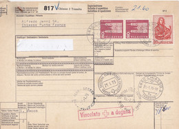 1975 Bulletin D'expedition, Da Svizzera Per L'Italia - Zonder Classificatie