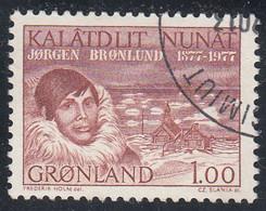 GREENLAND  Michel  104  Very Fine Used - Gebraucht