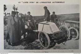 1902 CHATEAU THIERRY - COURSE DE COTE - LES VOITURES - PNEUMATIQUES CONTINENTAL - MICHELIN - DUNLOP - 1900 - 1949