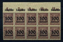 DEUTSCHES REICH 1923 Nr D92 Postfrisch (111015) - Officials