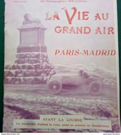 1903 AUTOMOBILE - COURSE PARIS = MADRID - LES CONCURRENTS - LES ACCIDENTS - COUHÉ VERAC - Mme DU GAST - PNEU CONTINENTAL - Unclassified