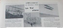 1904 BERCK DUNES DE MERLIMONT - MONT SAINT FRIEUX PRÉS DE BOULOGNE SUR MER - UN NOUVEAU SPORT LE VOL PLANÉ - 1900 - 1949