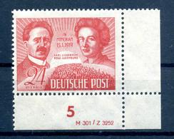 SBZ 1949 Nr 229 DV Postfrisch (408797) - Soviet Zone