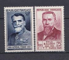 N° 846 Et 847 Congrès International Télégraphie: Beaux Timbres Neuf Impeccable Sans Charnière - Ongebruikt