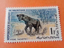 MAURITANIE - MAURITANIA - République Islamique De Mauritanie - Timbre 1963 : Animaux - Hyène Tachetée - Mauritania (1960-...)