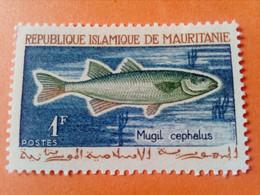 MAURITANIE - MAURITANIA - République Islamique De Mauritanie - Timbre 1964 : Poissons - Magil Cephalus - Mauritania (1960-...)