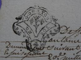 """1768 Généralité De LYON Papier Timbre N°222 De """"UN SOL"""" - Seals Of Generality"""