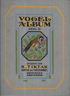 GF1244 - ALBUM CHROMOS TIKTAK - VOGEL ALBUM 2 - Sammelbilderalben & Katalogue