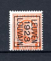 PRE75B MNH** 1923 - LEUVEN 1923 LOUVAIN - Typo Precancels 1922-31 (Houyoux)