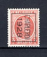 PRE167B MNH** 1928 - CHARLEROY 1928 - Tipo 1922-31 (Houyoux)