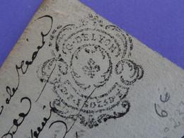 """1788 Généralité De LYON Papier Timbre N°222 De """"D.F. 1 SOL 5D 1/2"""" Saint-Etienne (Loire) Et Ville De Lyon (Rhône) - Seals Of Generality"""