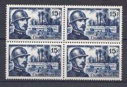 N° 1052 40ème Anniversaire De La Mort Du Colonel Emile Driant : Beau Bloc De 4 Timbres Neuf Impeccable Sans Charnière - Ongebruikt