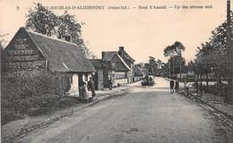 SAINT NICOLAS D'ALIERMONT - Bout D'Amont (carte Pas Courante) - Autres Communes